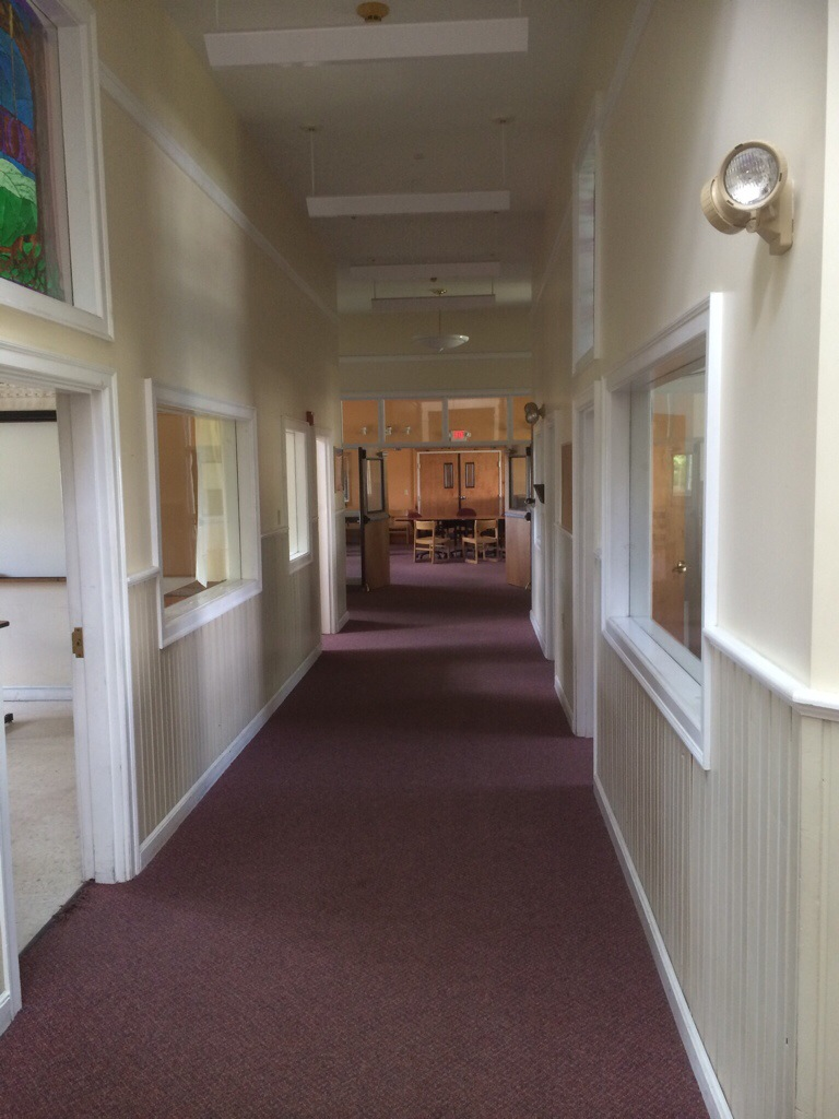 right hallway